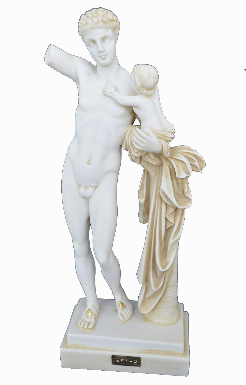 Greek sculptor eros