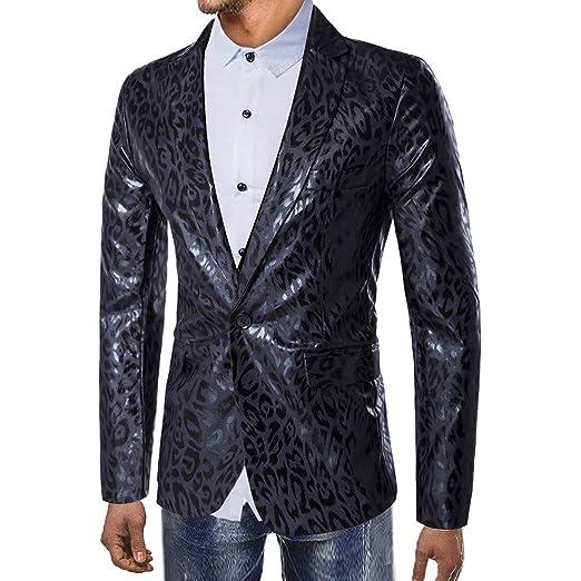 Los hombres de la moda de otoño e invierno estampado de ...