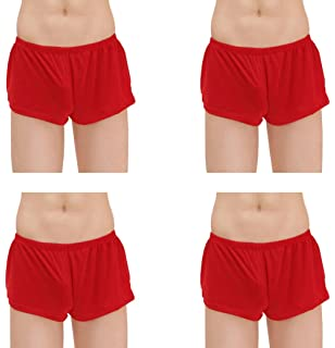 Kseey Mens Ice Silk Fashion Ultra-Thin Boxer Briefs Underwear Trunk