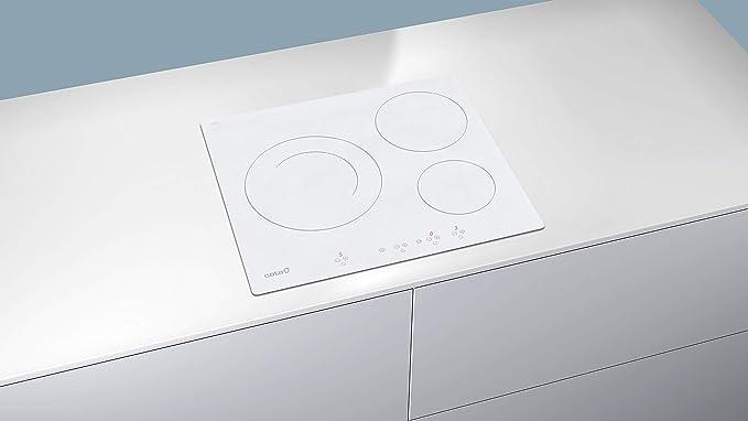 CATA IB 6203 WH Integrado Con - Placa (Integrado, Con placa de inducción, Blanco, 1200 W, Alrededor, 16 cm)