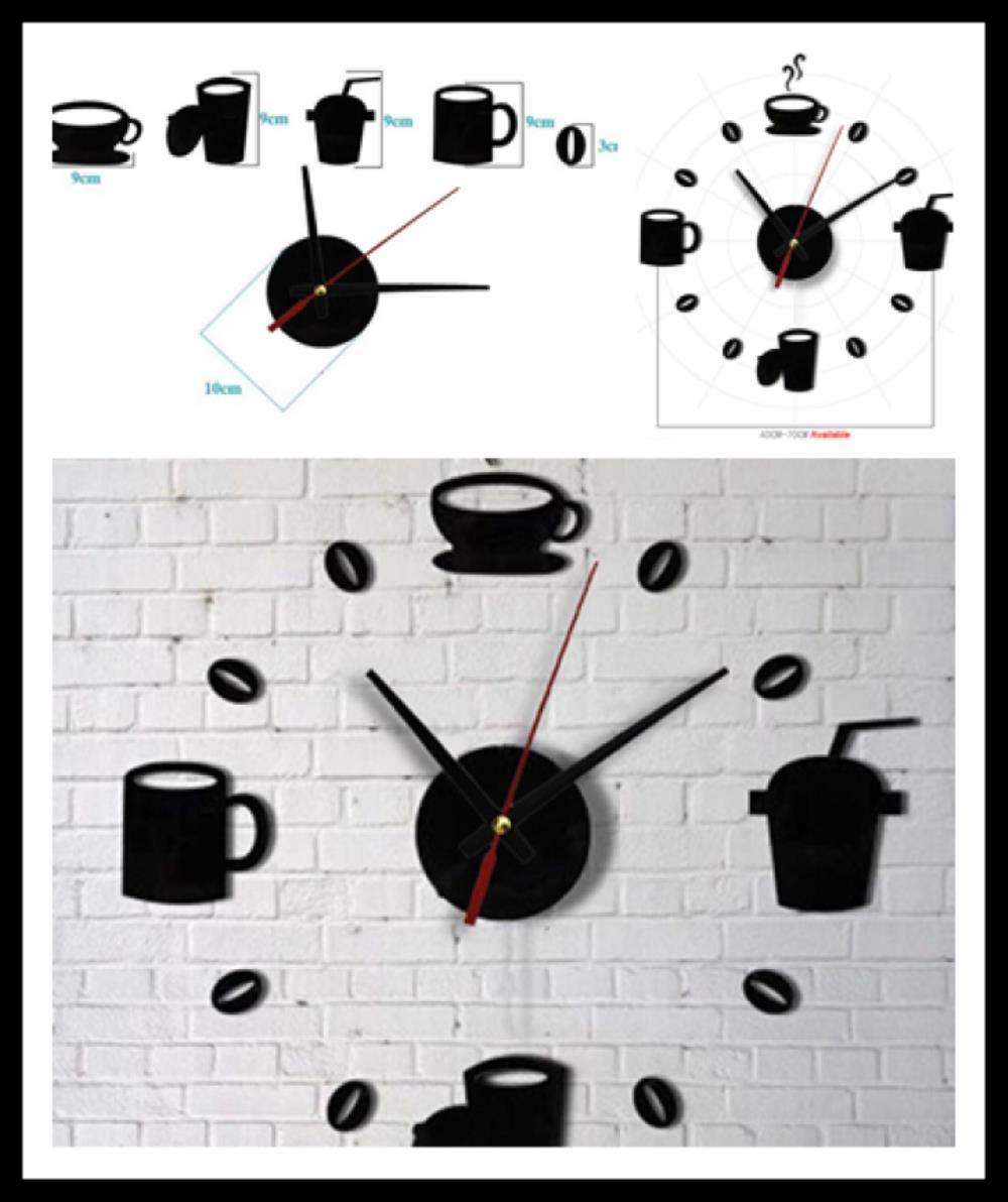 NAHUIYI Etiqueta de la Pared Reloj De Pared Pegatinas Pegatinas De ...