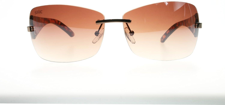 SXUC R7M237 Tortoise Romy Rimless Sunglasses