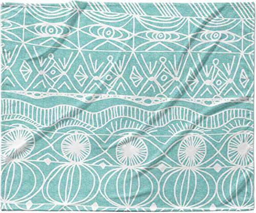 KESS InHouse Catherine Holcombe ''Beach Bingo'' Fleece Baby Blanket, 40'' x 30'' by Kess InHouse