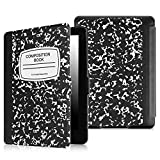 Fintie SmartShell Case for Kindle Paperwhite - The Thinnest and Lightest Cover With Auto Sleep / Wake for All-New Amazon Kindle Paperwhite (Fits All 2012, 2013, 2015 and 2016 Versions), Composition B