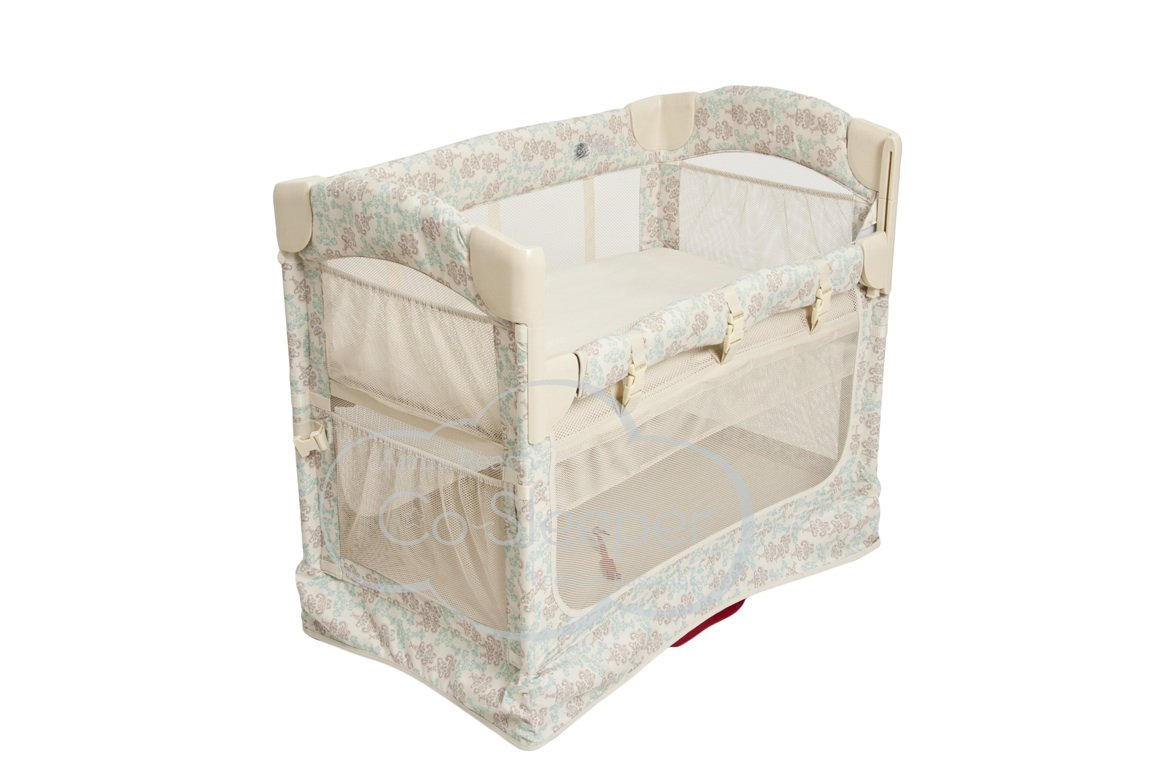 Arm\'s Reach Concepts Mini Ezee 2-in-1 Bedside Bassinet - Damask Arm' s Reach Concepts 5611-DK