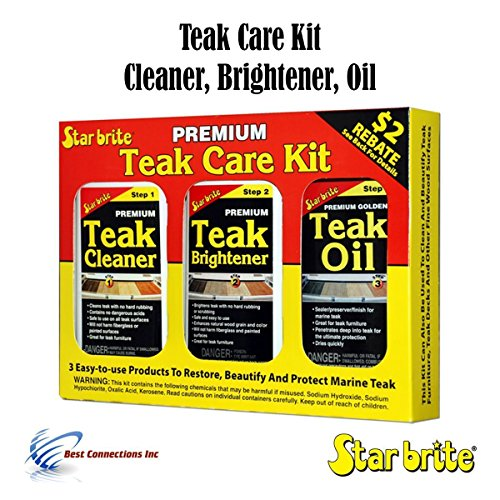 Star Brite Teak Care Kit, 16 Ounce