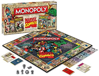 USAOPOLY - Marvel Comics Monopoly Game Collector's Edition