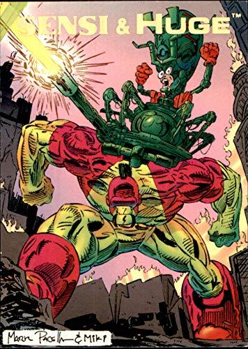1993 Creators Universe #69 Sensi and Huge