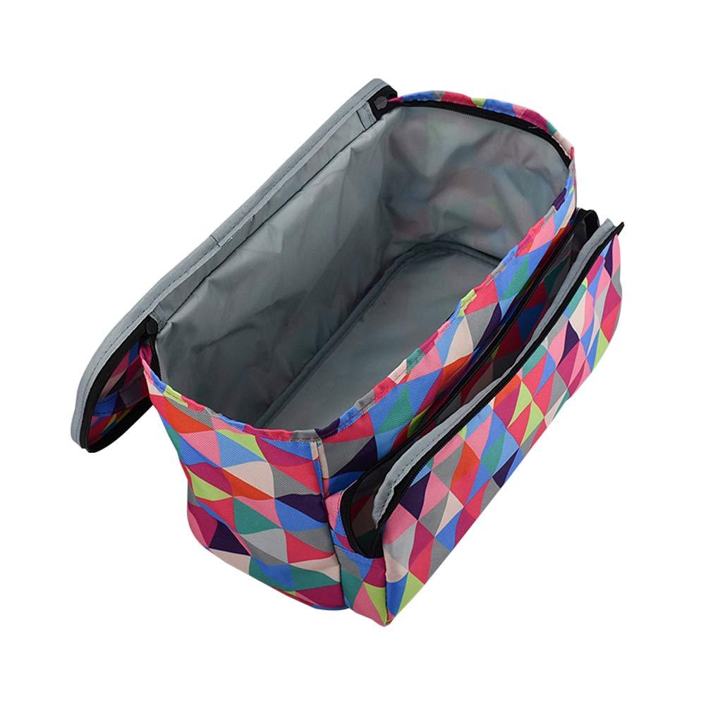 ganci Gorei accessori Borsa grande per filati uncinetti cucito accessori per la casa tessuto Oxford per riporre filati per lavori a maglia