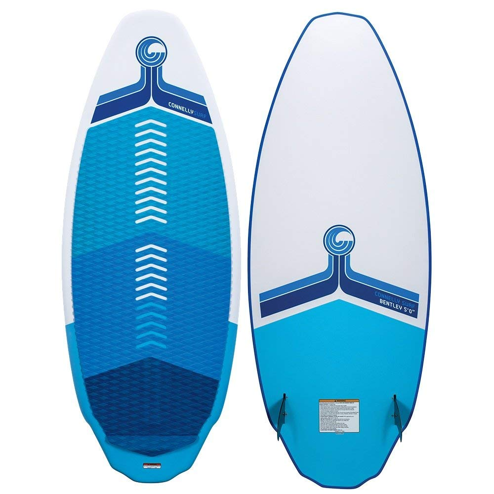 CWB Connelly Bentley Wakesurf Board 5', Hybrid Shape w/Twin Fins by CWB