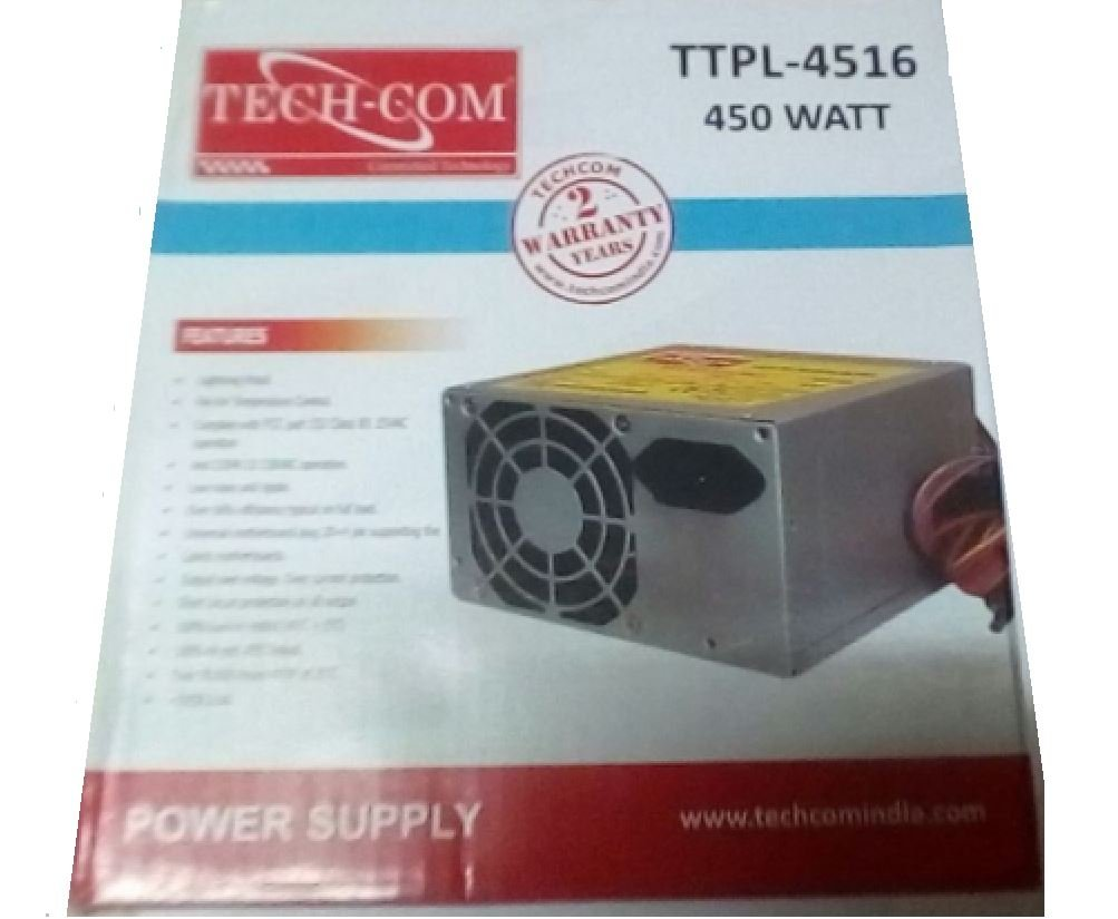 Buy Techcom Smps Power Supply 450 Watt Ttpl 4516 Online W Circuit Diagram At Low Prices In India Reviews Ratings