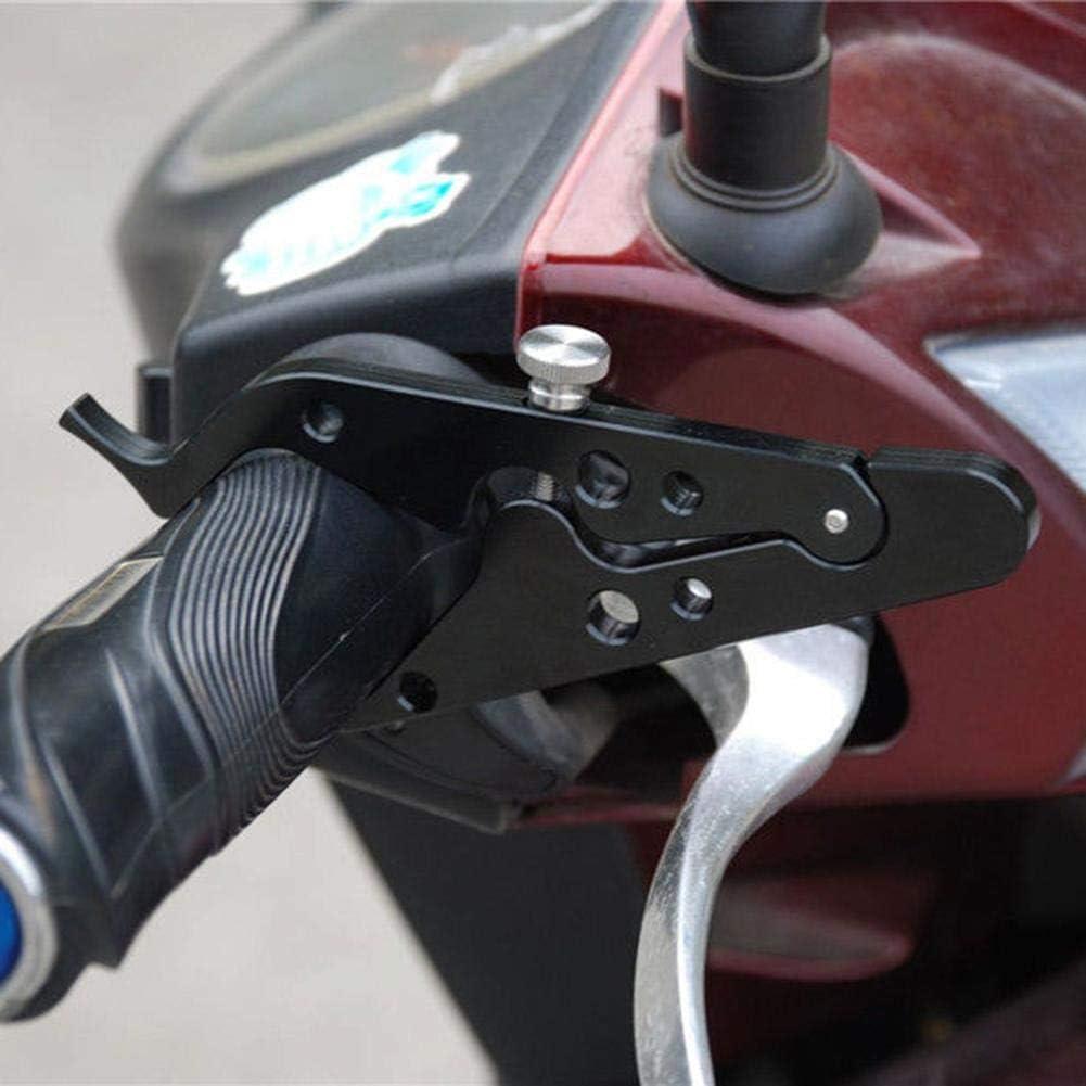 Febelle Universal CNC Motorrad Cruise Control Drottle Lock Assist Retainer Grip schwarz
