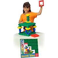 Wedgits Building Blocks Board, Green, 1 Count