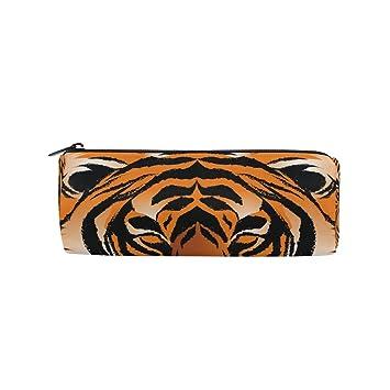 Tiger - Estuche para lápices de tambor de gran capacidad ...