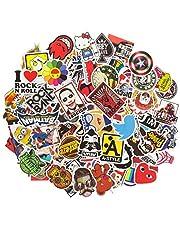 ANKENGS Stickerpakket [100 stuks], Graffitistickers, Vinylstickers, Willekeurige Sticker, Autostickers, voor Fiets, Motorfiets, Auto's, Skateboard, Laptop, Skateboard, Bagagekoffer…