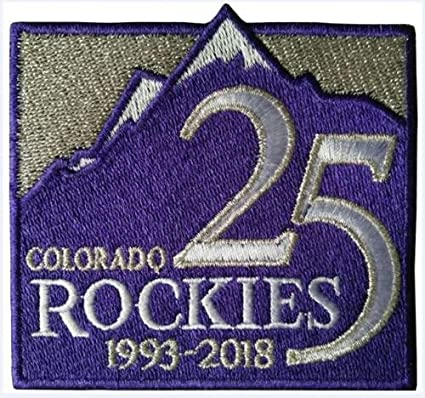 9f484071a Amazon.com: Baseball Rockies 25TH Anniversary Patch Jersey Patch World  Series CHAMPIONSPRE-Order Item - Shipping Begins ON October 20TH: Sports &  Outdoors