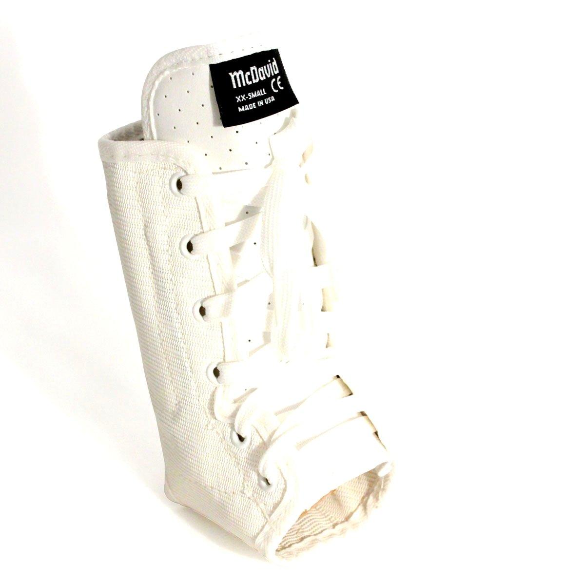 McDavid 199 Lightweight Ankle Brace (White, Small) by McDavid (Image #1)
