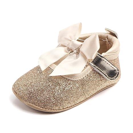Zapatos dorados para bebé HOFdfJ
