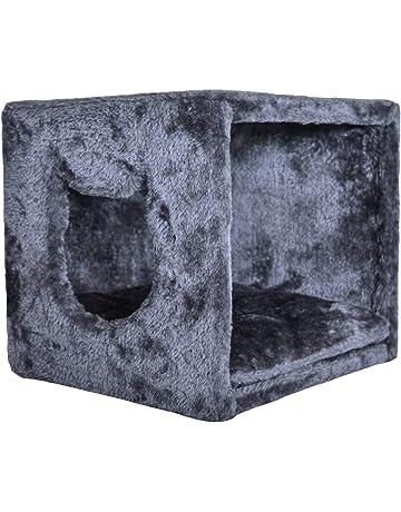 PetPäl Cueva para Gatos para estanterías como IKEA Kallax & Expedit | Cojín inclusivo para Cuevas