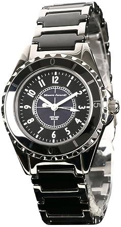 c705d1bec9 [マウロジェラルディ]Mauro Jerardi 腕時計 ソーラー セラミック MJ042-1 レディース