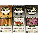 Adam Warm and Soothing Black Tea Three Blend Assortment, 1.67 Ounce