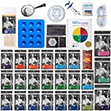 "ULTIMATE Molecular Gastronomy ""Made Easy"" Starter Kit + Bonus 300 Recipe CD ⊘ Non-GMO ❤ Gluten-Free ✡ OU Kosher Certified Ingredients"