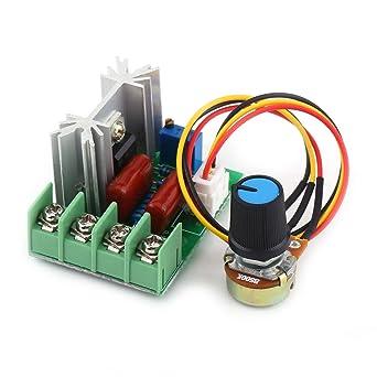 CA 50-220V 2000W SCR Regulador de Voltaje Eléctrico Regulador de ...