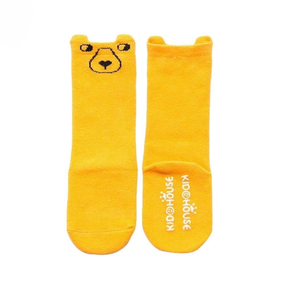 dragonaur Unisex Baby Cartoon Animal Design Cotton Warmer Knee High Socks Stockings