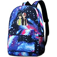 My Hero Academia Midoriya Izuku Deku Todoroki Shoto Backpack Student Bookbag Travel Computer Bag