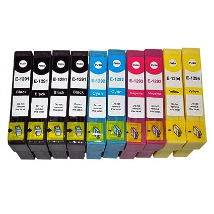 10 x E129X_UK cartuchos de tinta compatibles para Epson Stylus ...