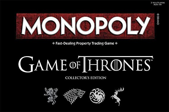 Board Game - Deluxe Game of Thrones Monopoly by Winning Moves: Amazon.es: Juguetes y juegos