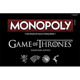 USAOPOLY Monopoly Game of Thrones Board Game   Collectable Monopoly Game   Official Game of Thrones Merchandise   Based on The Popular TV Show on HBO Game of Thrones   Themed Monopoly Board Game
