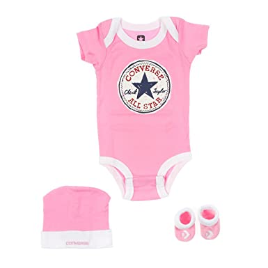 cbfc91110f247 Converse Infant 3 piece sets, Hat, Booties, Scarves