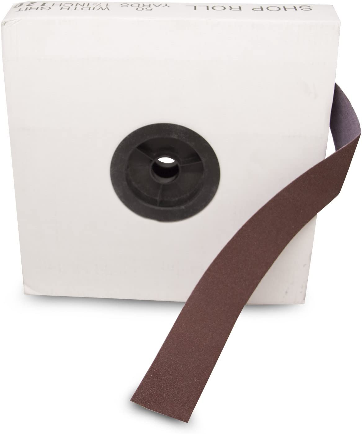 Fine Grade VSM Abrasives 1-1//2 X 50 Yard 120 Grit Aluminum Oxide Cloth Roll F Weighted Backing