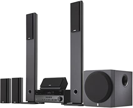 Amazon.com: Yamaha YHT-897 5.1-Channel Network Home Theater System ...