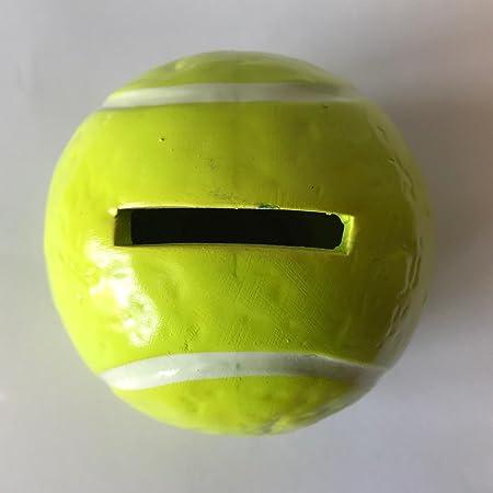 portamoneta Hucha para monedas de cerámica bola pelota tenis ...