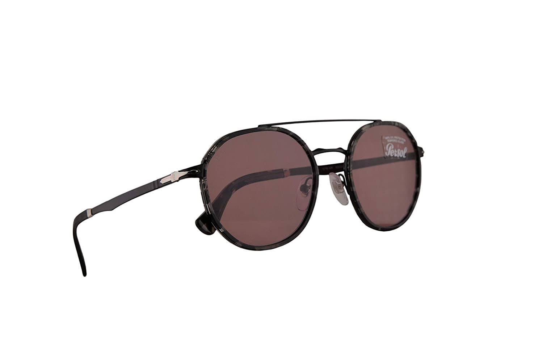 Persol 2456-S Gafas De Sol Demi Gloss Negro Con Lentes ...