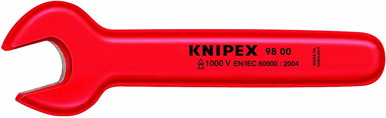 KNIPEX 98 00 16 1,000V Insulated 16 Mm Open End Wrench