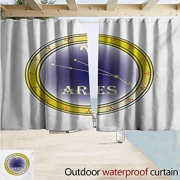 Cortina de ventana para interior/exterior con impresión del ...