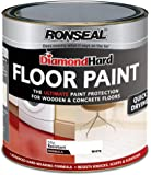 Ronseal Diamond Hard Floor Paint 750ml White