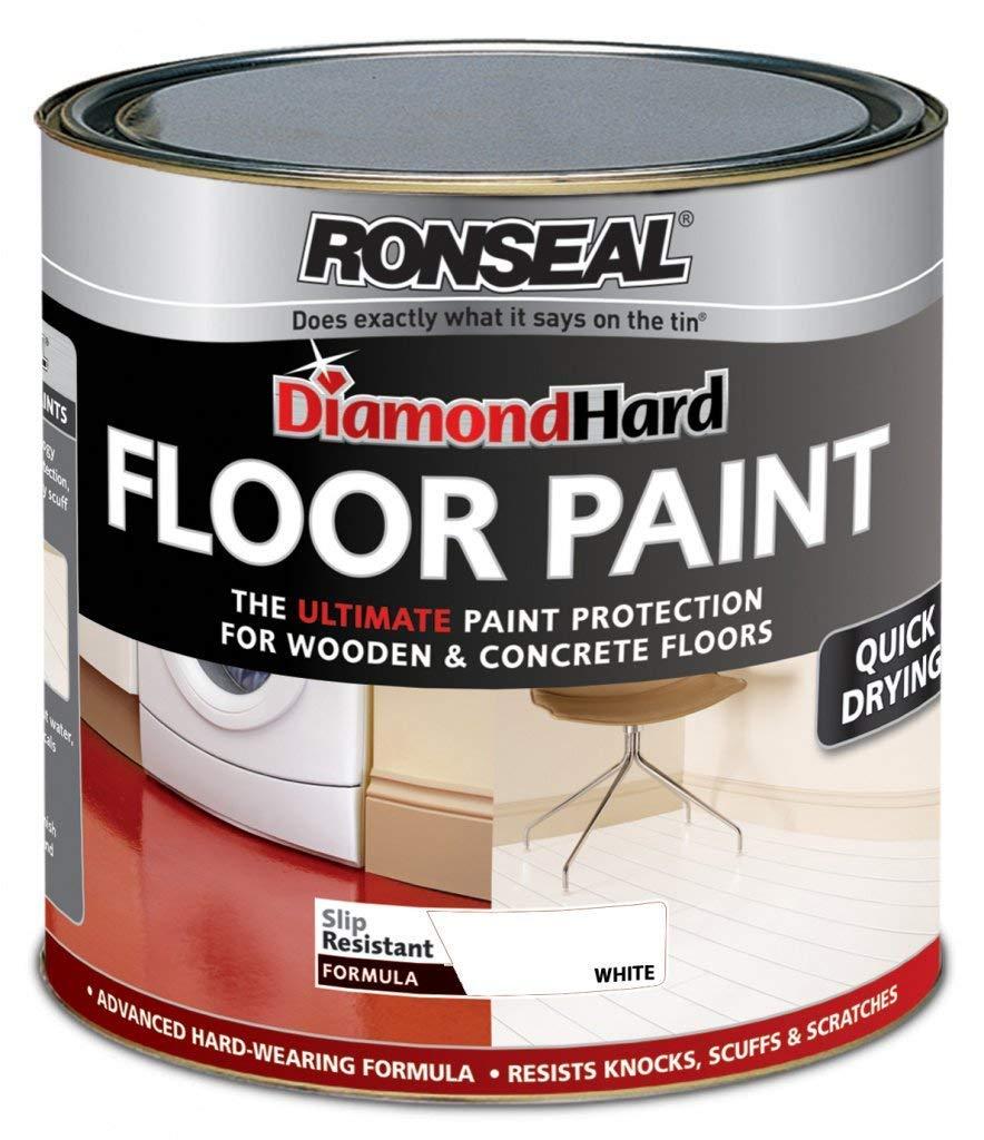 Ronseal Diamond Hard Floor Paint 750ml White ASINOAUK30K