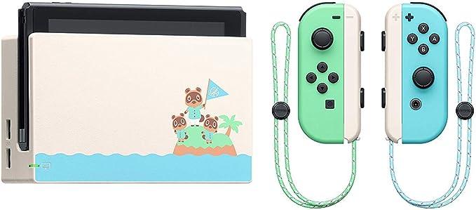 Nintendo Switch consola 32gb Verde/turquesa Neón Animal Crossing ...