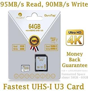 Amazon.com: 128GB Micro SD SDXC Memory Card Plus Adapter ...