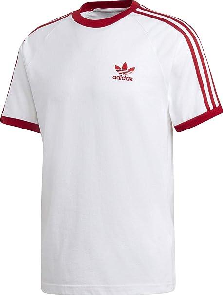 adidas Originals T Shirt Herren 3 Stripes Tee DY1533 Weiss