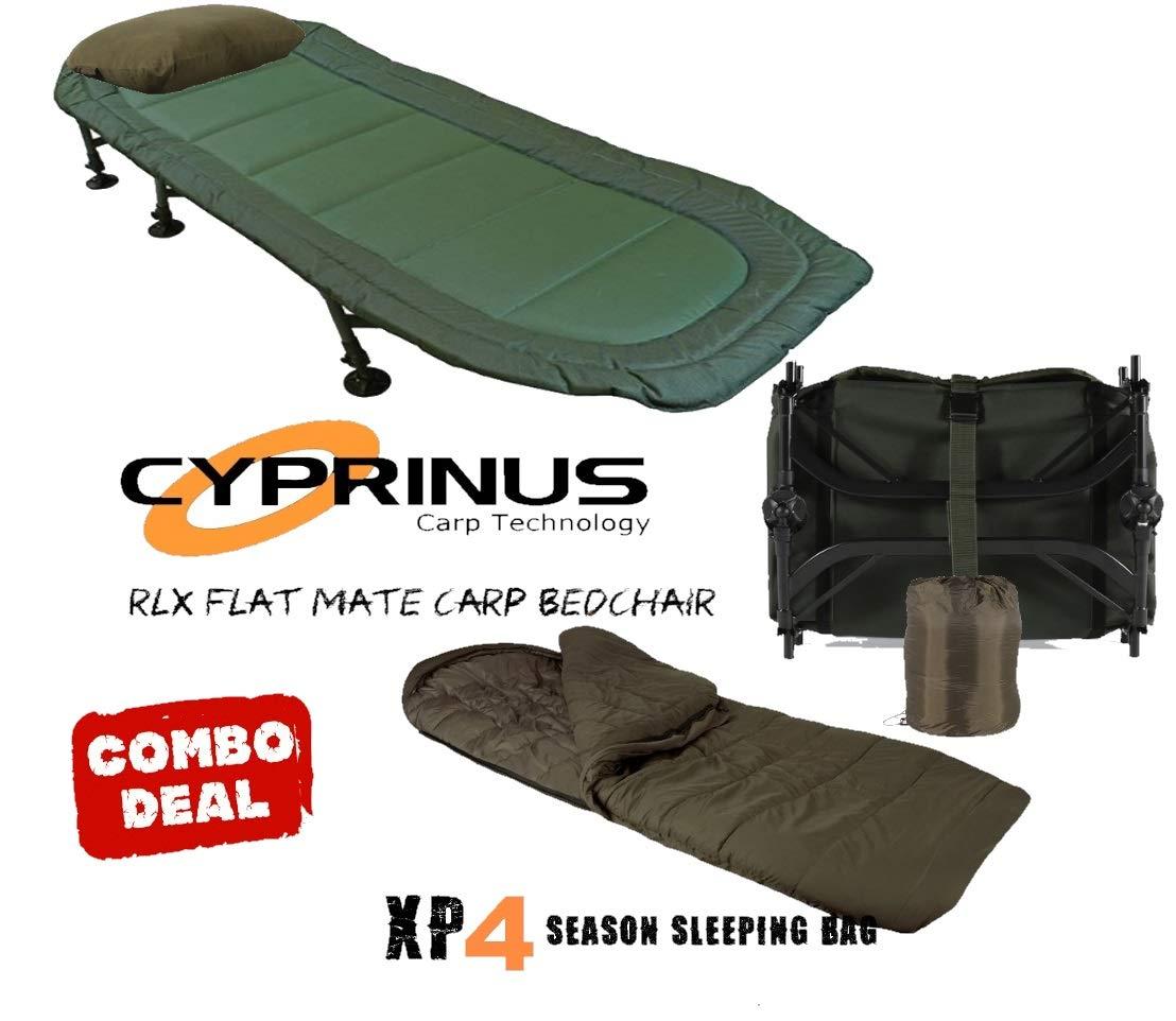CyprinusTM - Sillón de Camping y Saco de Dormir de 4 a 5 Estaciones: Amazon.es: Deportes y aire libre