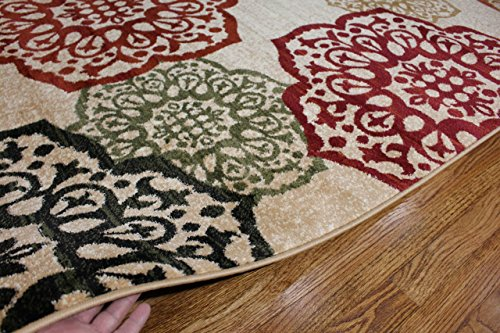 Summit S10 New Area Rug Modern Abstract Rug, 2x3 2x7 4x6 5x8 8x10 (5x8 Actual is 4'.10''x7'.2'') - Made in Turkey Wool blended heat set olefin twisted yarn No fringe for clean design - living-room-soft-furnishings, living-room, area-rugs - 61z4492 W8L -