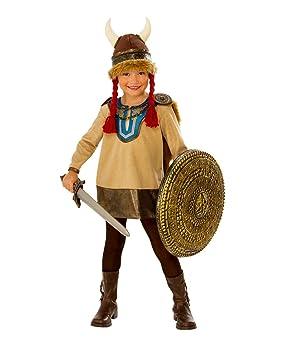 Horror-Shop Pequeño Disfraz Infantil Vikingo con Casco De ...
