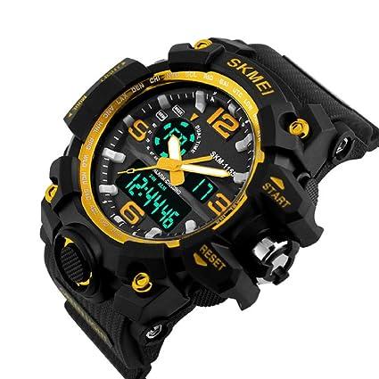 Reloj analógico digital impermeable para hombres, deportivo, para ...