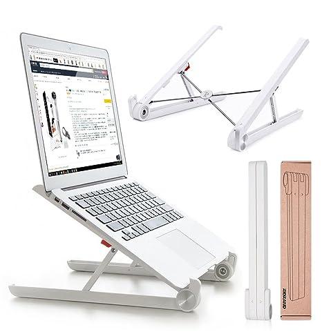 Portátil Soporte para portátil Plegable con ventilación Ajustable para Ordenador portátil