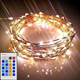Starry Lights with Remote Control / Dimmer (20 Ft /120 LEDs) - Various Lengths Available